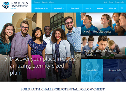 Bob Jones University – Christian College Education