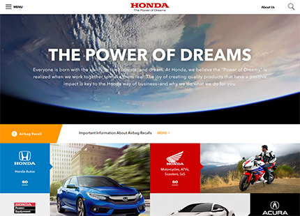 American Honda Motor Co., Inc. – Official Site